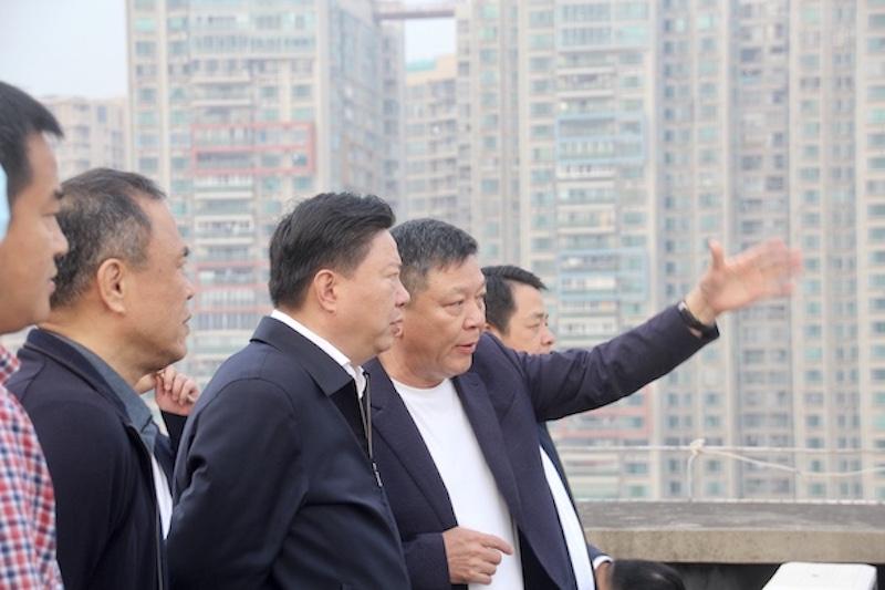 中国五矿集团总经理、中冶集团董事长国文清一行莅临mile官网集团考察交流